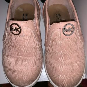 Michael Kors toddler slipons size 8